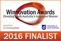 Winnovation Finalist 2016 Chloe Gardner