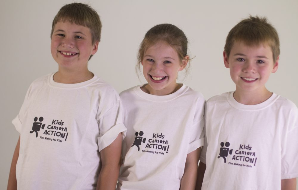 Kids Camera Action T-shirts
