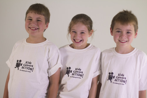 Kids Camera Action T-shirts