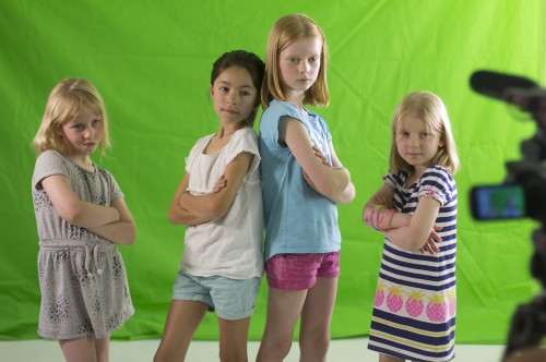 Music Video Kids Camera Action Adelaide Green Screen