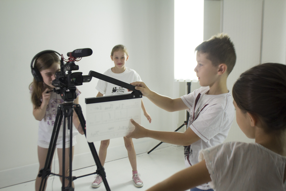 kids filmmaking classes adelaide kids camera action