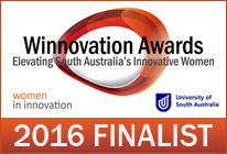 Winnovation Finalist 2016 Chloe Gardner